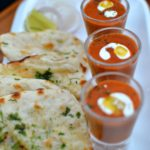 Dal makhni shots and naan