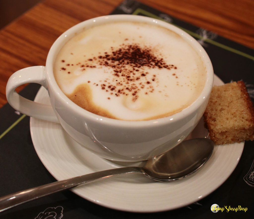 Capuccino at Evoo