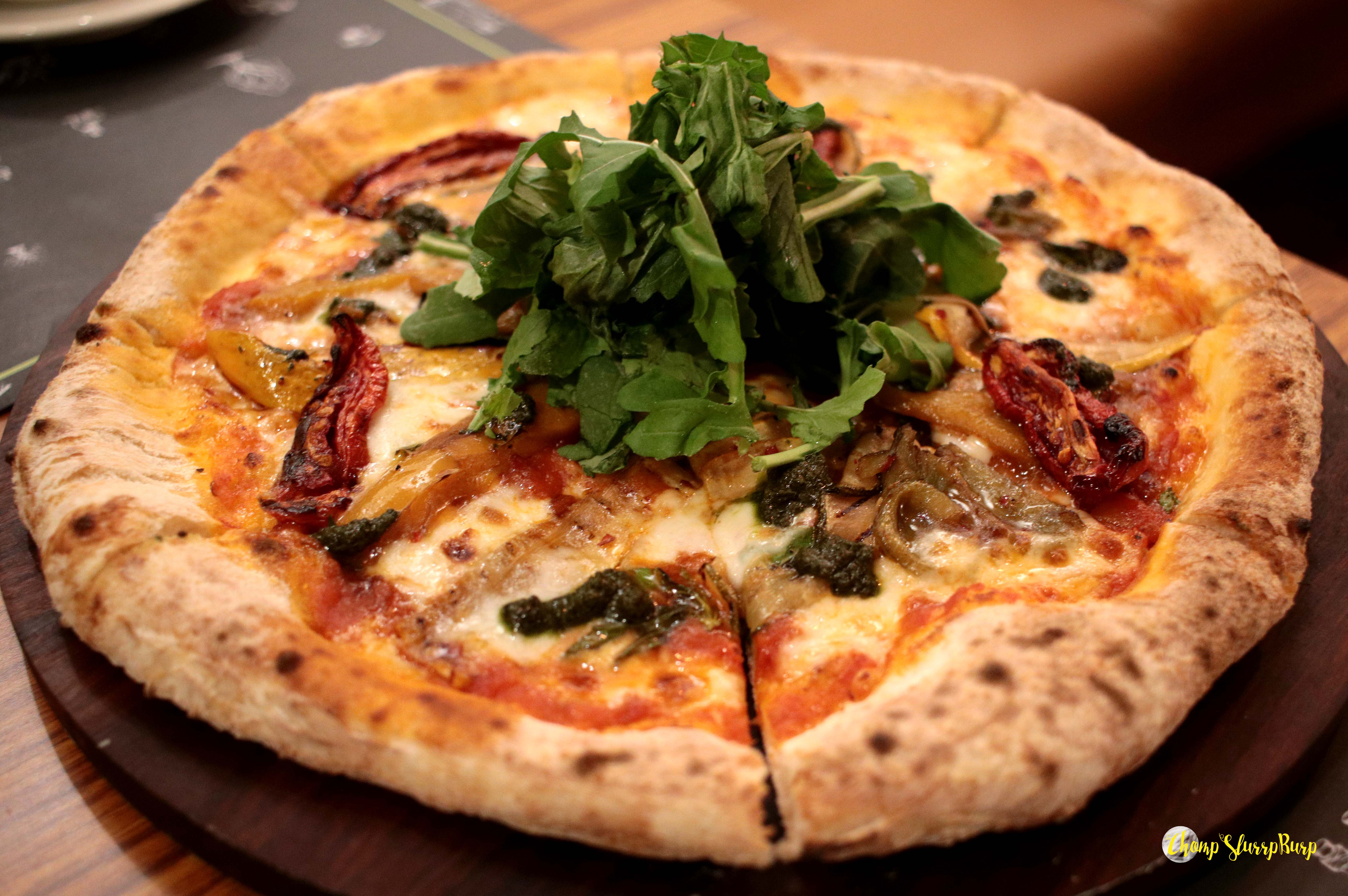 Pizza at Evoo
