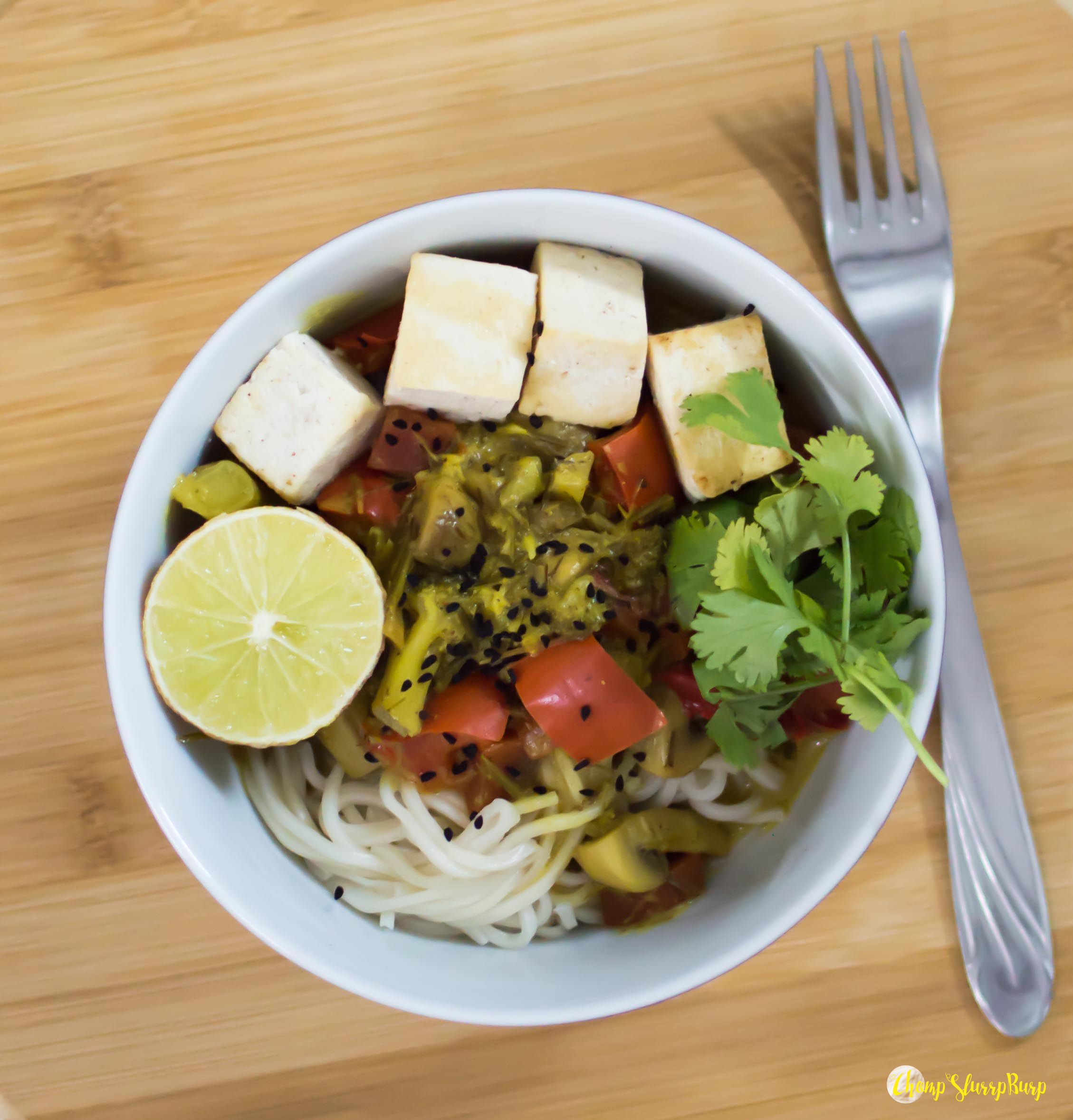 Coconut lemongrass noodle bowl (1)