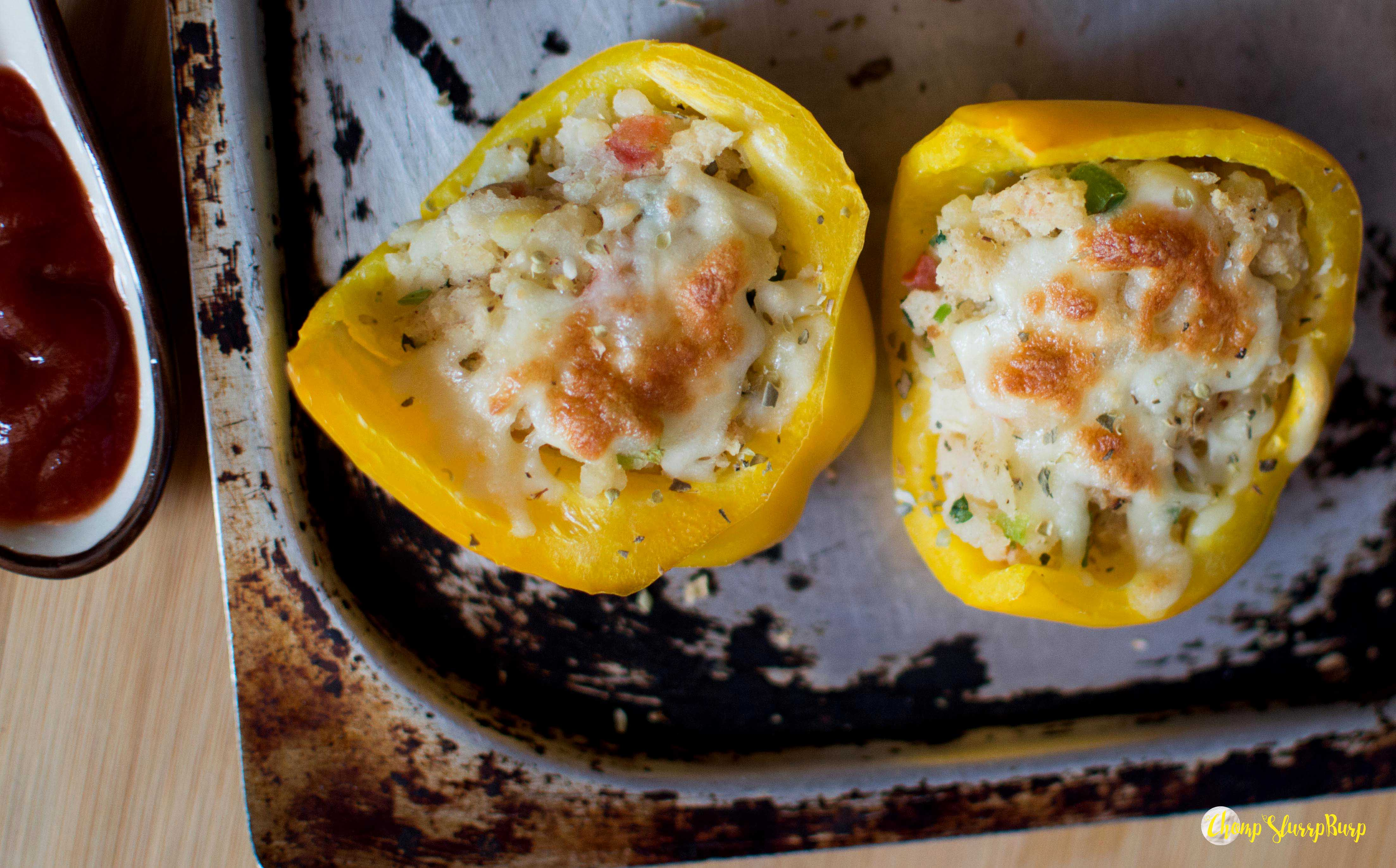 Stuffed bell pepper (4)