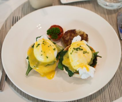 Eggs Florentine The Grand Kolkata