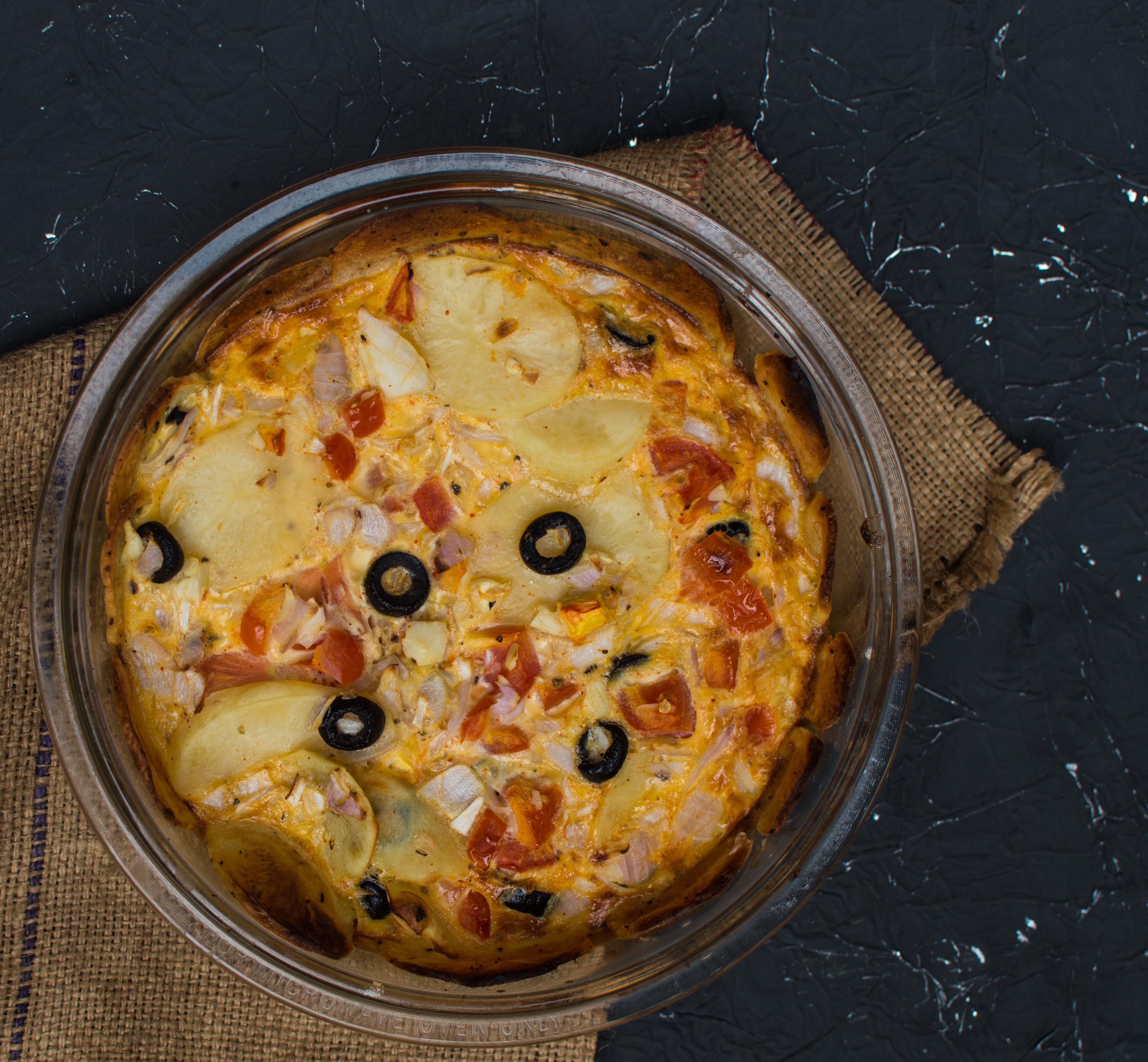 Baked Spanish Omelette