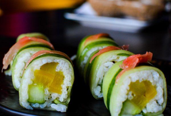 Sushi at Tum Tum Asia